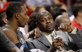 Patrick Ewing is familiar with Dwight Howard, but may be more interested in the New York Knicks vacancy.