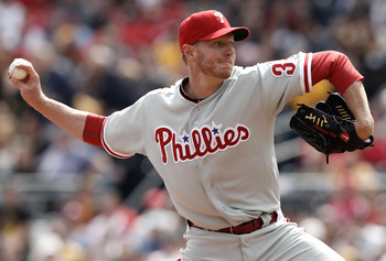 Halladay deals in the 3rd inning against the Pirates.