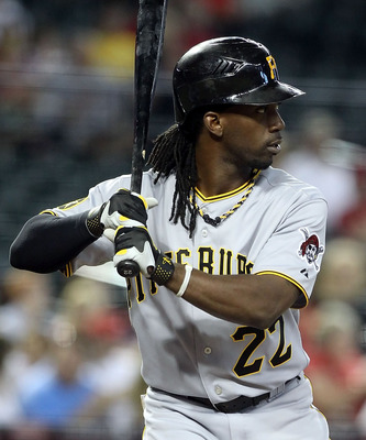 25-year-old Andrew McCutchen played in the MLB All-Star Game in 2011.