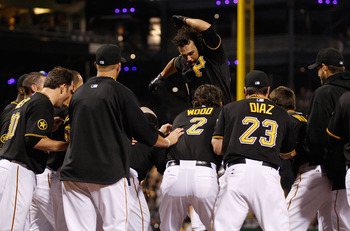The Pirates were near the top of the NL Central for much of the month of July.