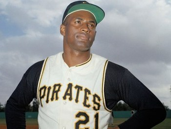 Roberto Clemente, former Pirates superstar, died on New Year's Eve in 1972 on a charity trip to South America.(blackandgoldworld.blogspot.com)