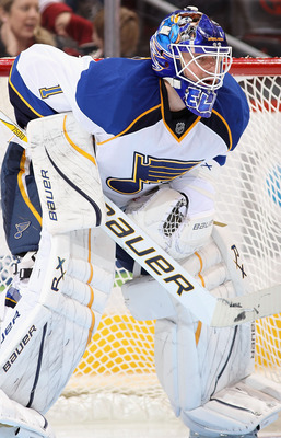 Brian Elliott is arguably the NHL's hottest goaltender going into the playoffs.