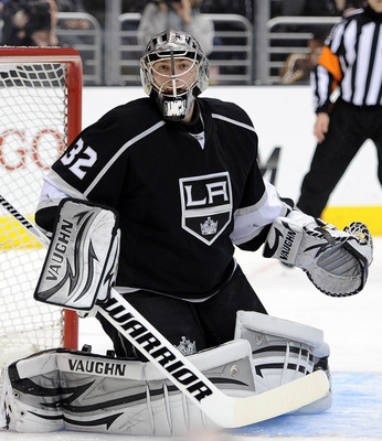Jon Quick has been a bright spot in a sub-par Kings' season.