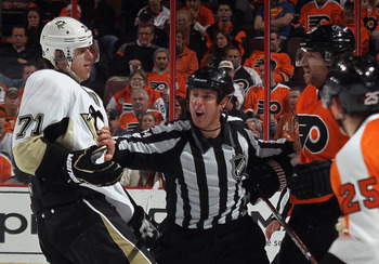 There is no secret the Penguins and the Flyers don't like each other.