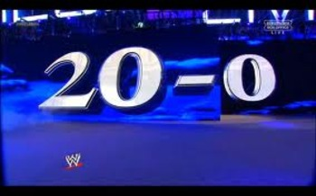 Undertaker scores his 20th victory at WrestleMania.
