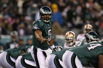 Donovan McNabb commanded the Eagles offense for 11 seasons.
