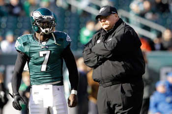 Working with Andy Reid has made Michael Vick a better passer.