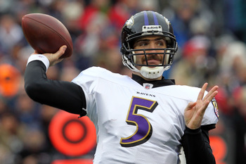 Joe Flacco has never missed the playoffs in his career.