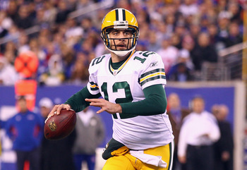Aaron Rodgers was MVP in 2011.