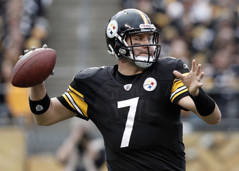 Ben Roethlisberger has won two Super Bowls.