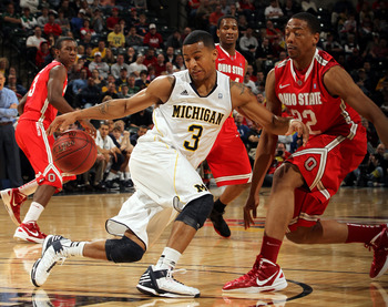 Trey Burke split the Big 10 Freshman of the Year honors with Indiana's Cody Zeller.