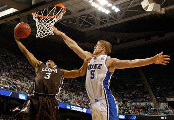 C.J. McCollum was electric during Lehigh's second-round upset of Duke.