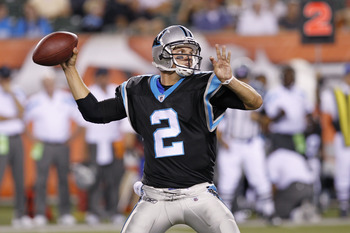 QB Jimmy Clausen - Carolina Panthers