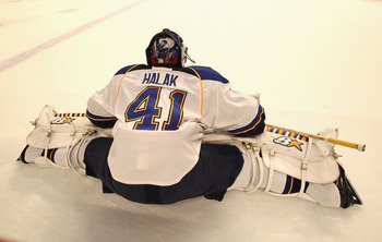 Jaroslav Halak is looking to channel his stellar performance from the 2010 playoffs when he backstopped the Montreal Canadiens.