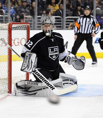 Can Jonathan Quick lead the Kings to upset the Canucks?