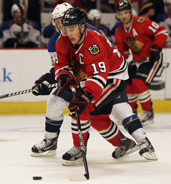 Will Jonathan Toews return and lead the Blackhawks past the Blues?