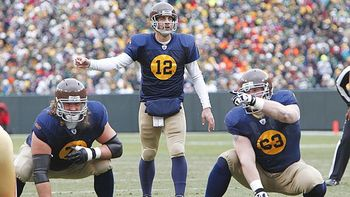 Green Bay Packers retro uniforms. Photo courtesy of http://espn.go.com/espn/page2/index?id=5890807