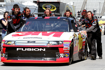 After missing the Chase a year ago, Greg Biffle sits atop the standings after six races