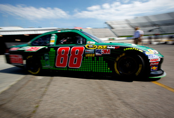 Dale Earnhardt Jr. has been solid so far in 2012
