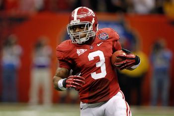 Trent Richardson demonstrated his abilities in the nation's toughest conference.