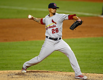 Kyle Lohse took a no-hitter into the seventh inning on Opening Night in Miami.