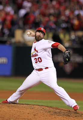 Jason Motte needs to be a dominant closer in Carpenter's absence.