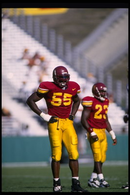 Israel Ifeanyi was a highly touted linebacker out of USC.