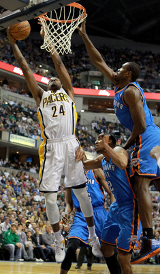 Indiana Pacers vs. Oklahoma City Thunder