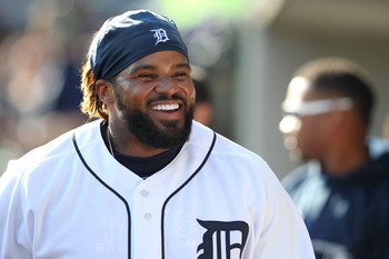 Prince Fielder adds protection in the lineup for Miguel Cabrera.