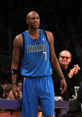It's been a lost season for Lamar Odom in Dallas.