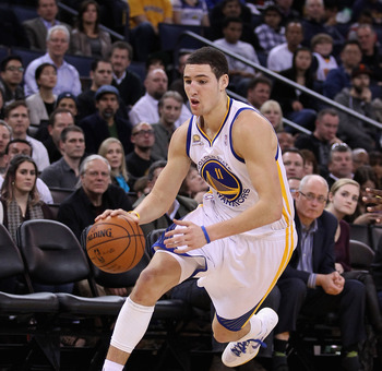 Rookie Klay Thompson's emergence allowed Golden State to deal Monta Ellis and has earned him a starting position.