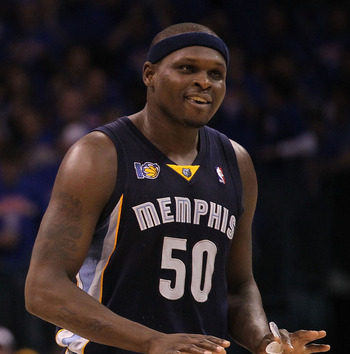 The now-healthy Grizzlies are surging with Zach Randolph as their sixth man.