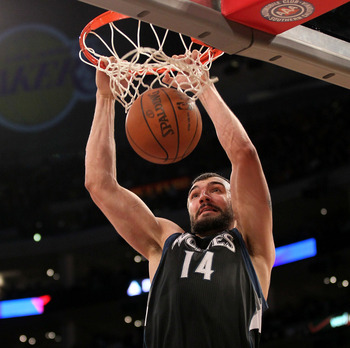 Nikola Pekovic has burst onto the scene this year.
