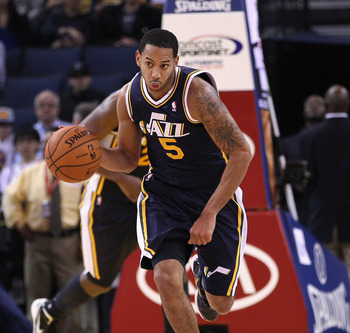Devin Harris just hasn't worked out in Utah.