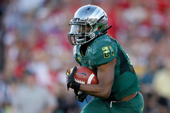 LaMichael James, Oregon
