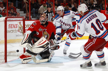 Gaborik will have to keep scoring to help the Rangers take care of the Senators