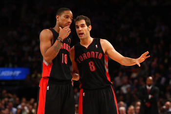 Jose Calderon an afterthought in Toronto