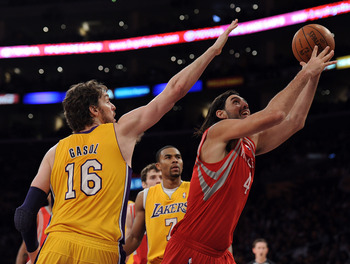 Pau Gasol has endured an up-and-down season with L.A.
