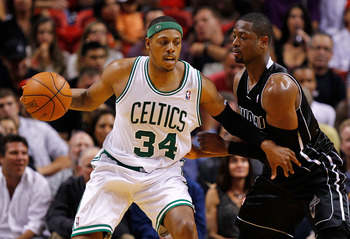 Paul Pierce has helped the Celtics turn the season around