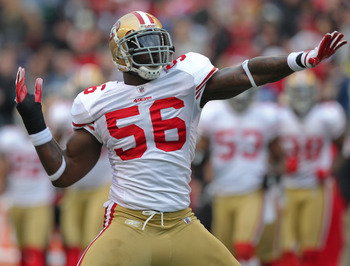 49er fans might miss Gooden getting down post-special teams tackle.