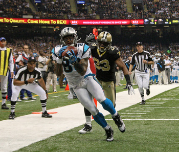 Steve Smith will lead an improved Panthers receiving group in 2012.