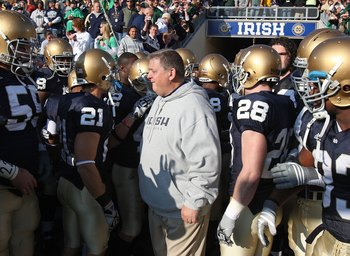 Charlie Weis had a profound impact on ND's offense.