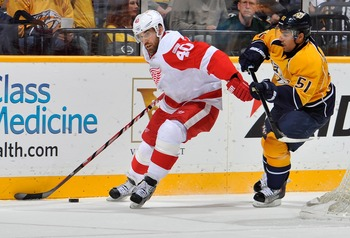 Zetterberg is going to need a lot more help in order to move on.