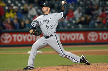 Santiago was the surprise winner of the ChiSox closer role.