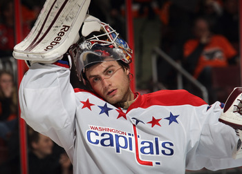 Braden Holtby may be the last option left for the Capitals as they head into the playoffs