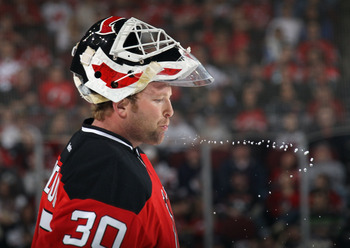 Martin Brodeur can still play with the top team when he is on his game, but that's no guarantee