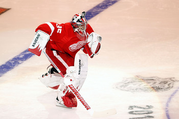 The Red Wings will need Jimmy Howard to come up big if they want to have playoff success