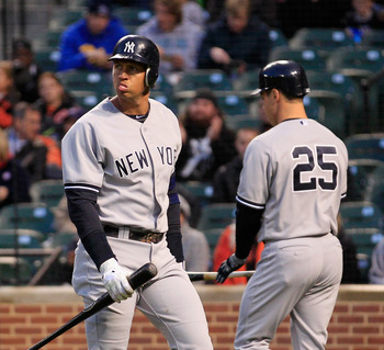 Alex Rodriguez is still looking for his first RBI.