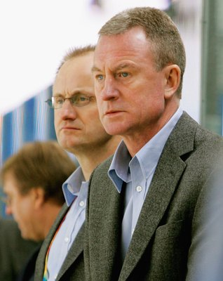 Former Capital Bengt Gustafsson coached Sweden to gold medals at the 2006 Olympics and World Championships.
