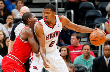 Joe Johnson's arrival moved the Hawks from the lottery to mediocre playoff team. They haven't moved since.